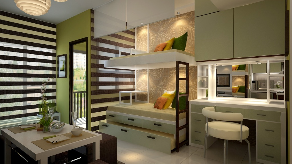 Mabolo garden flats cebu best condominium for Interior designs for studio type condo