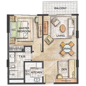 32 Sanson 1 Bedroom